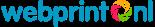 Webprint logo foto op canvas