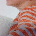 Foto op vurenhout whitewash details