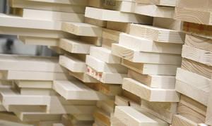 Houtsoorten foto op hout