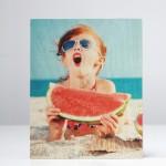 Timberprint foto op berken