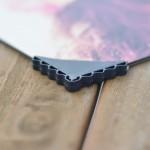 Foto op dibond hout hoekje