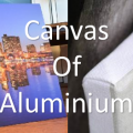 Foto op canvas vs aluminium