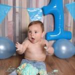 Baby fotografie 1 jaar leuk