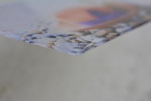 foto op plexiglas review hoekje