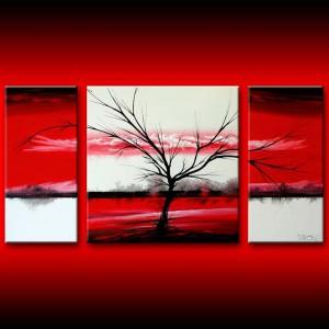 Canvas drieluik kleuren