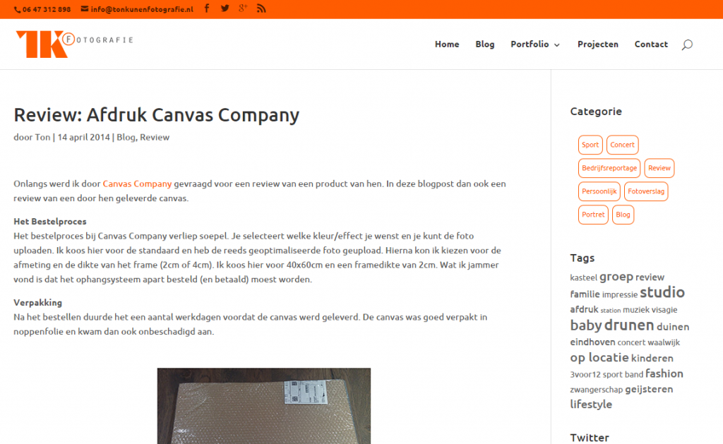 TK Fotografie CanvaCompany review