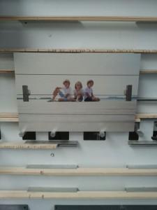 Vakantie foto Woodprint saampjes
