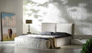 Woodprint foto op hout slaapkamer