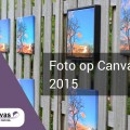 Foto op canvas test 2015
