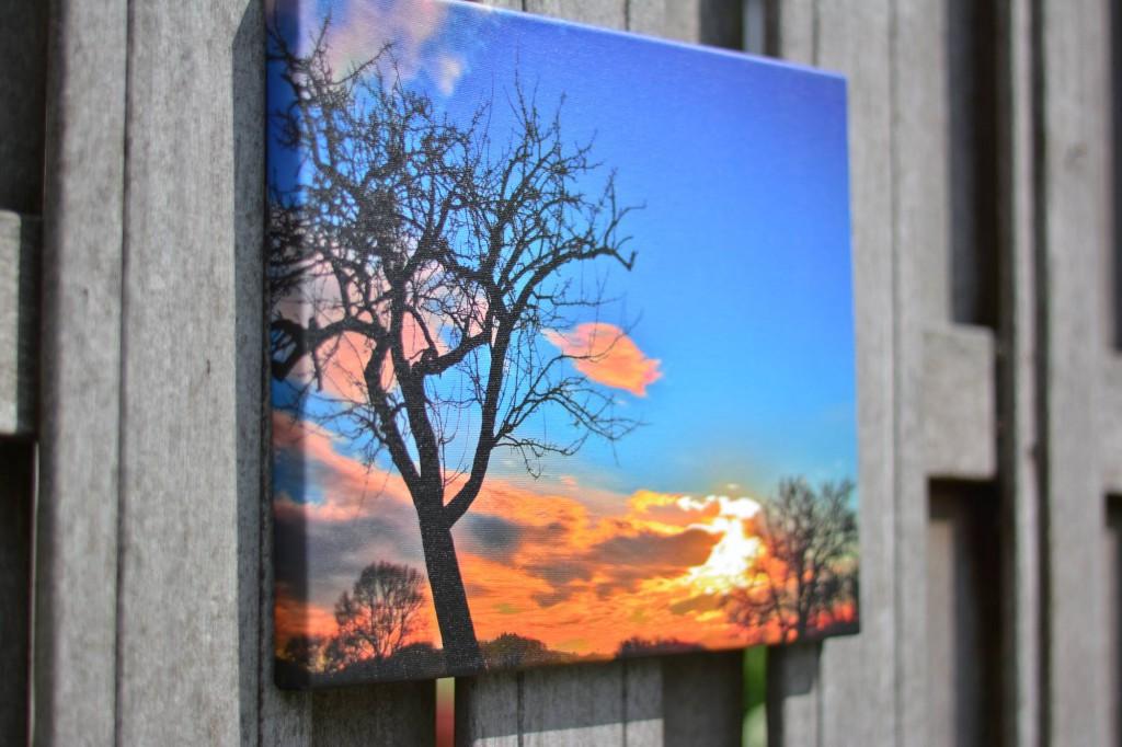 beste kwaliteit kleur van foto op canvas
