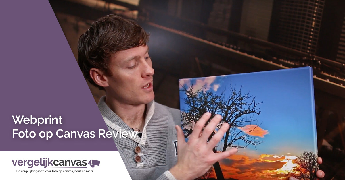 [Video] Webprint Foto op Canvas Review