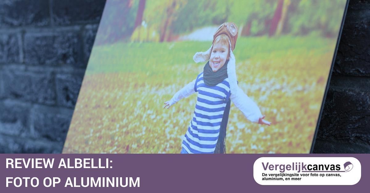 Albelli Review – Foto op aluminium