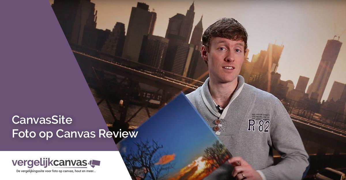 [Video] CanvasSite Foto op Canvas Review