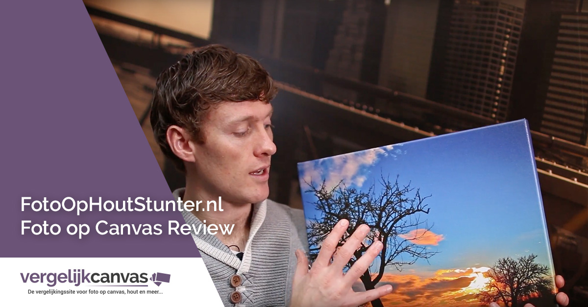 [Video] FotoOpHoutStunter.nl Foto op Canvas Review