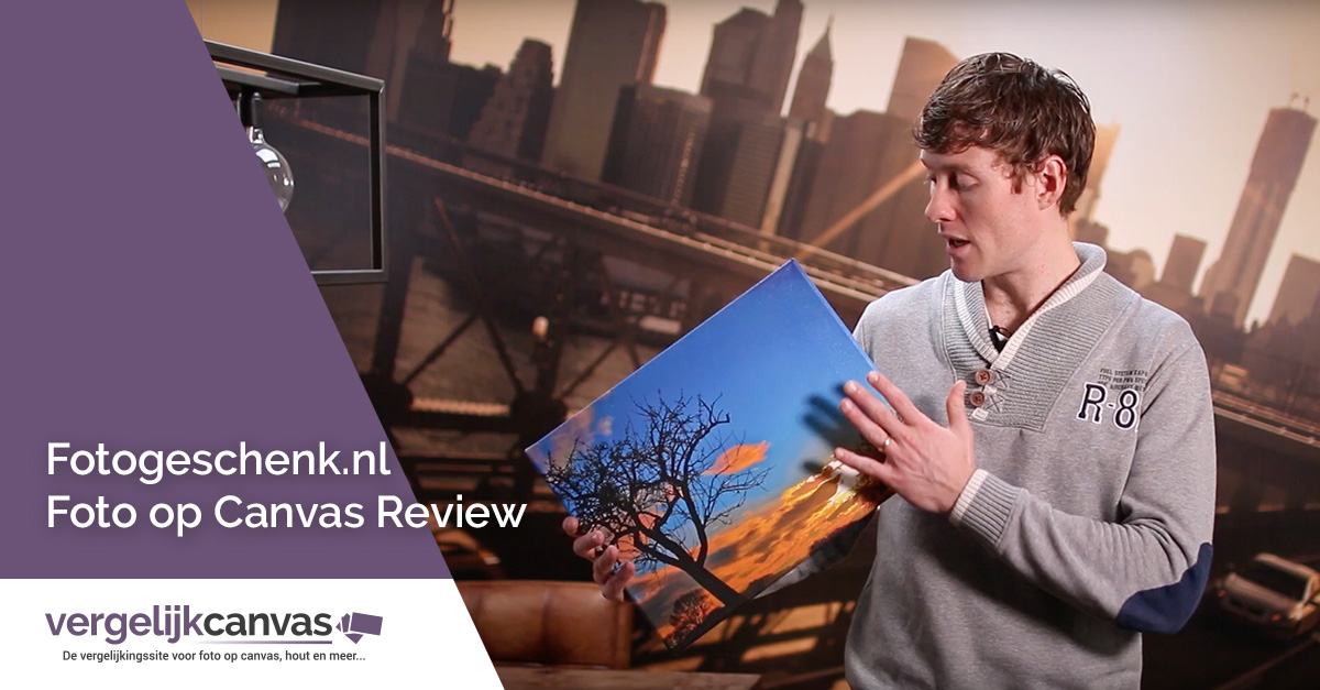 [Video] Fotogeschenk.nl Foto op Canvas Review
