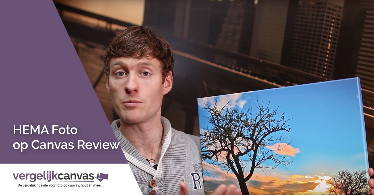 [Video] HEMA Foto op Canvas Review