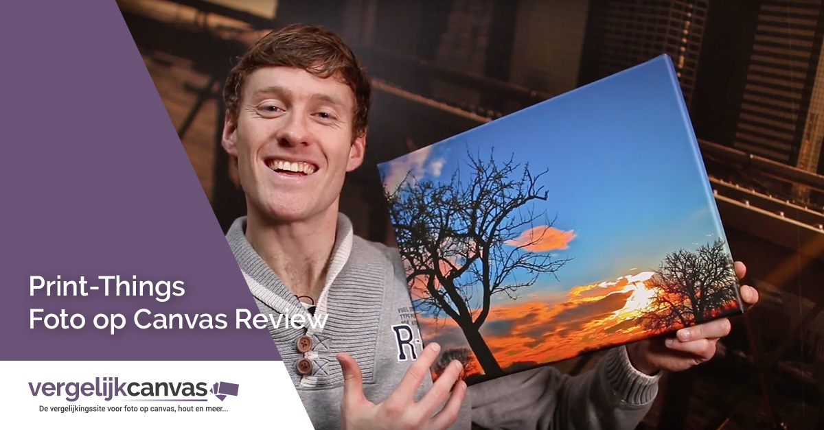 [Video] Print-Things Foto op Canvas Review