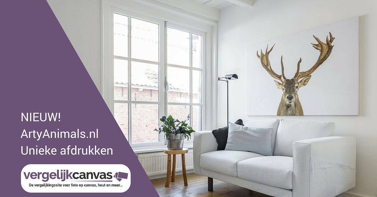 NIEUW! ArtyAnimals.nl wanddecoratie maar dan anders…