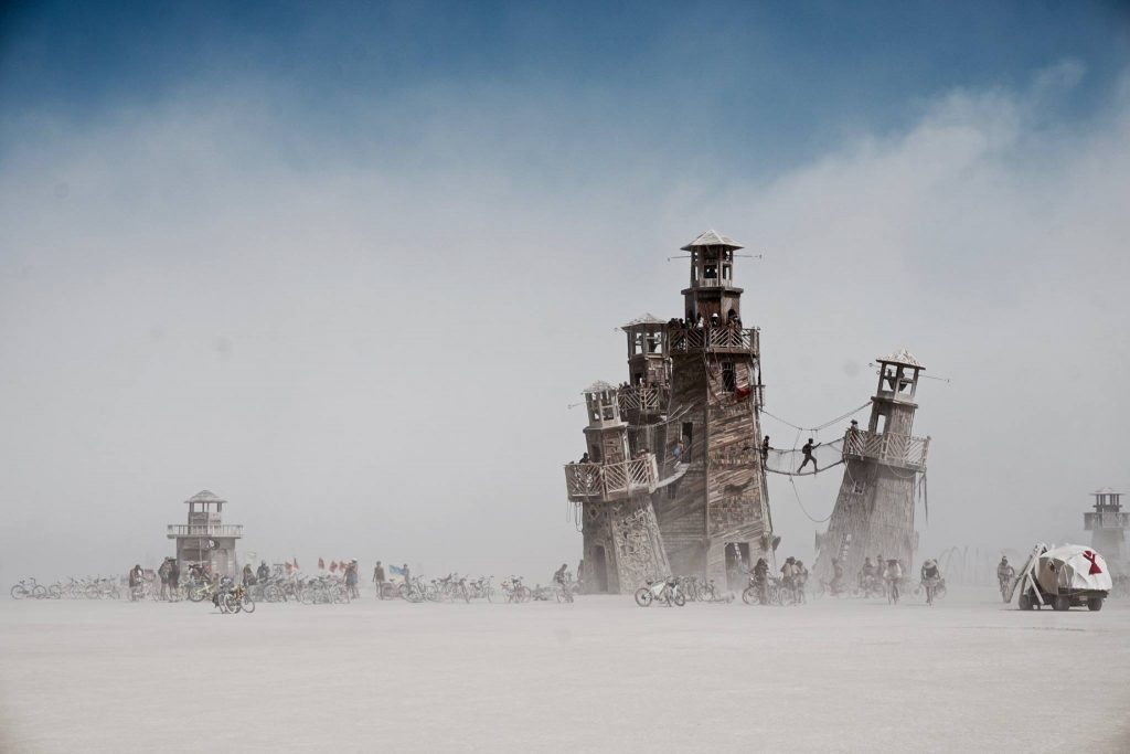 burning man, nevada, usa, vakantiebestemming, vakantiefoto