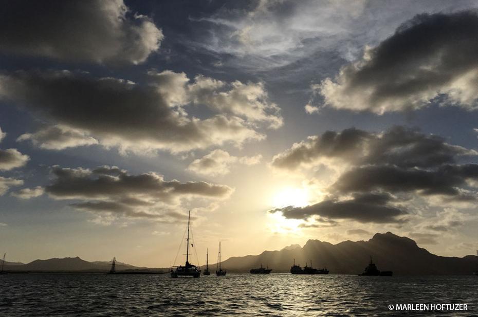 atlantische oceaan, zeilen, kaapverdie, zee, reisbestemming