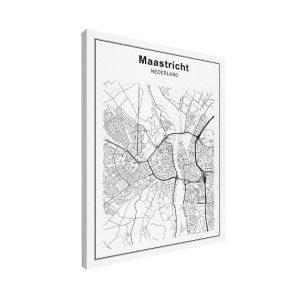 stadskaart, maastricht, plattegrond, wereldkaarten