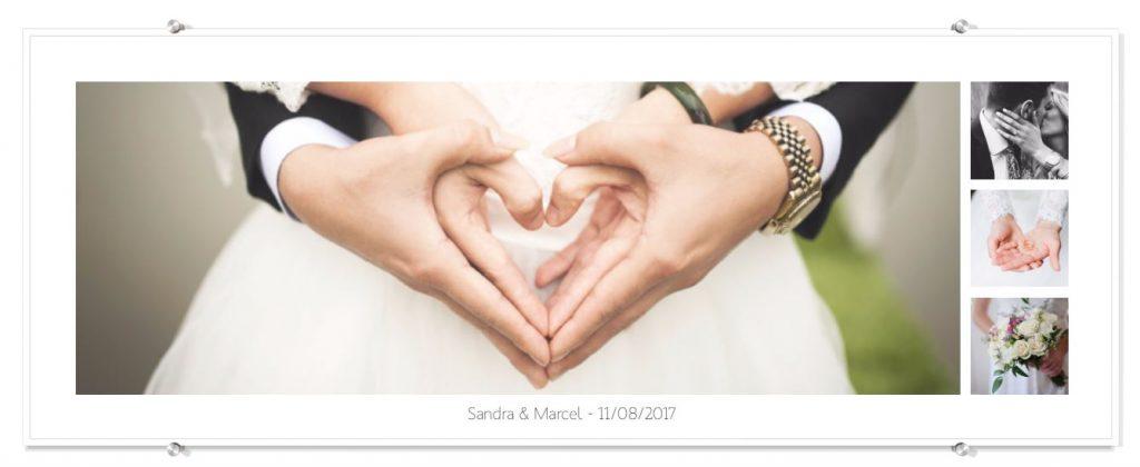 Foto op plexiglas panorama trouwfotografi