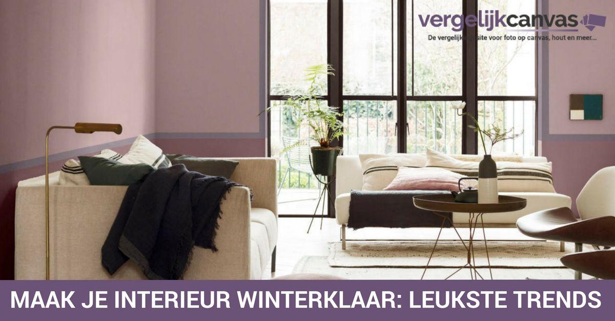 Maak je interieur winterklaar: de leukste trends