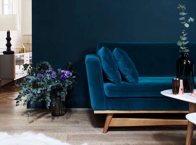 winter trend interieur velvet