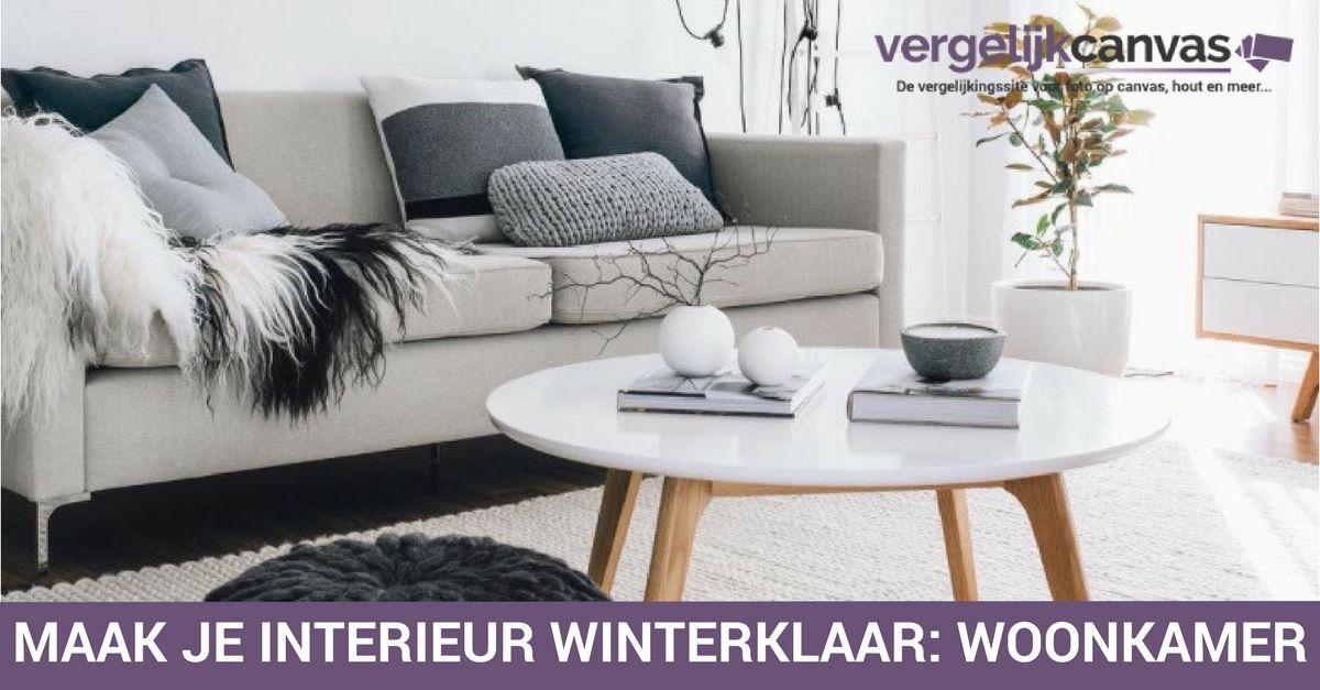 Maak je interieur winterklaar: woonkamer