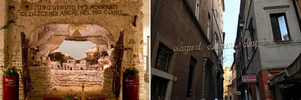 Rome Italië kerstvakantie