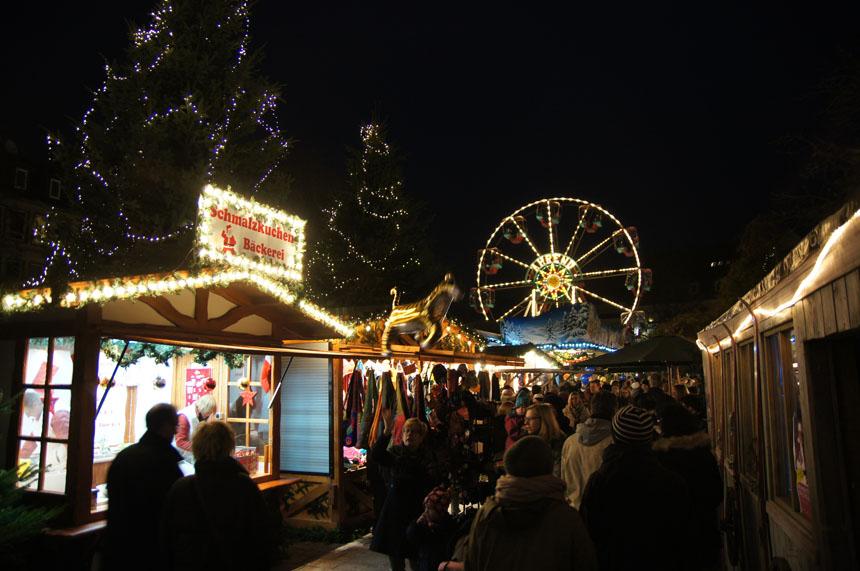 Hildesheim, Duitsland Kerstvakantie