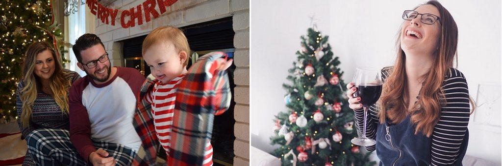 kerst fotografie familie
