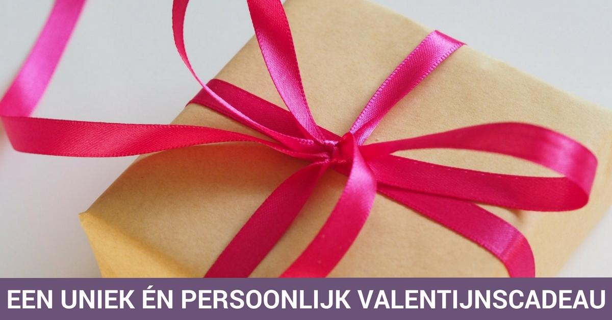 Een uniek én persoonlijk valentijnscadeau