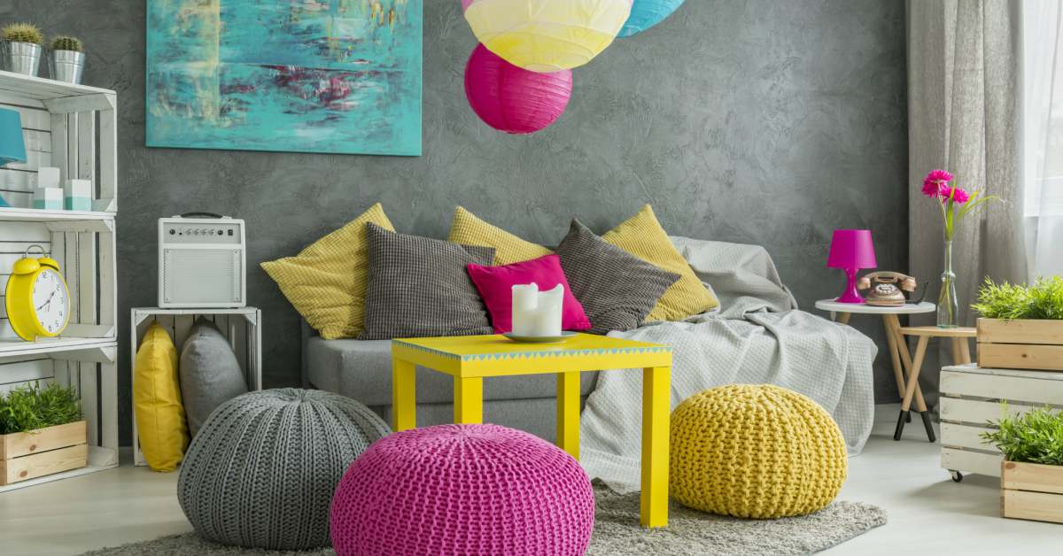 colorblocking interieur trend 2018