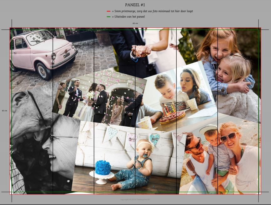 fotocollage op hout timberprint