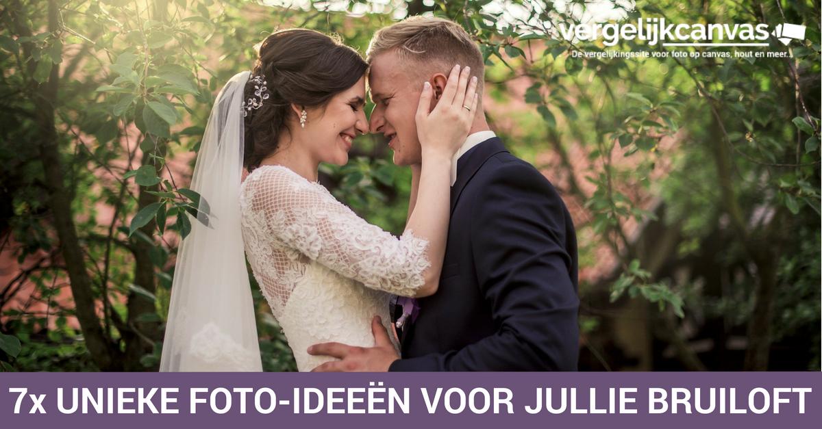 7x Unieke foto-ideeën voor jullie bruiloft