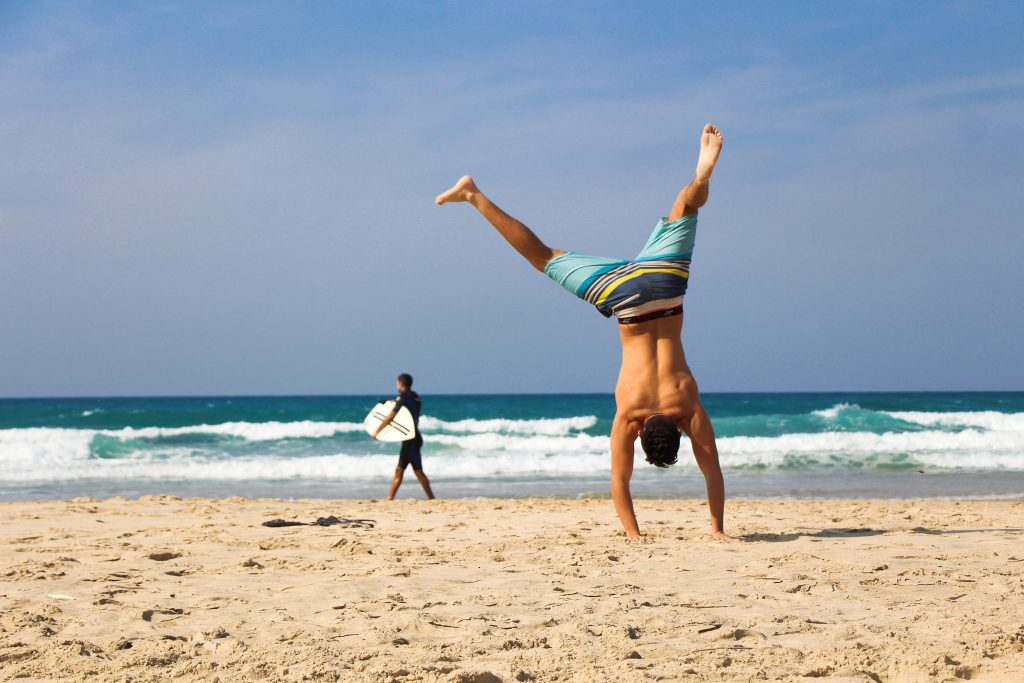 beweging vastleggen strandfotografie