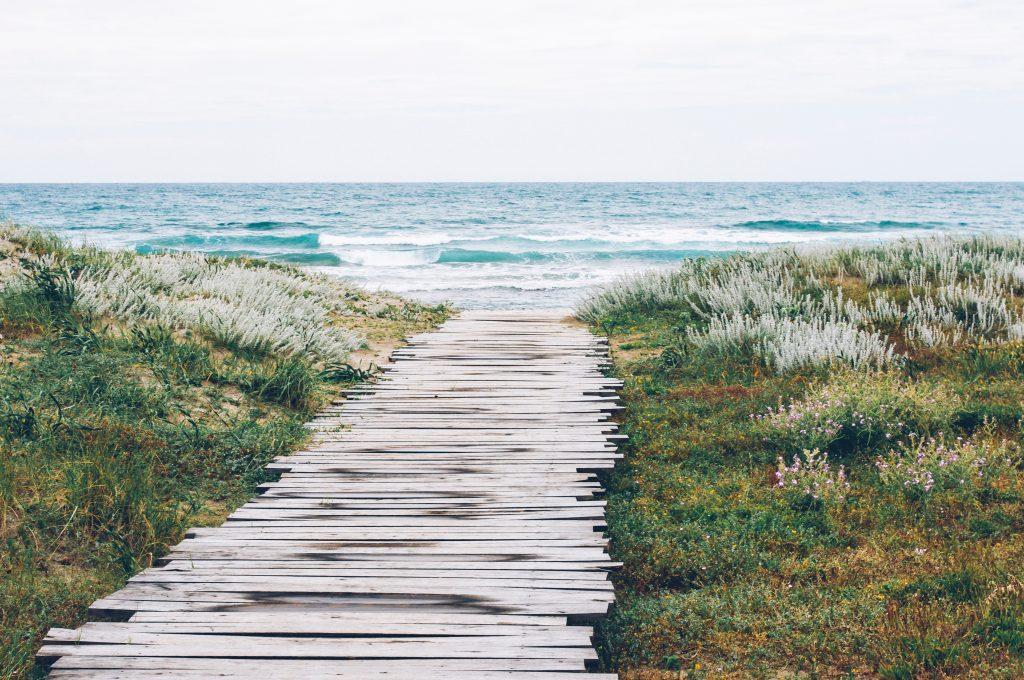 duinpad strandfotografie