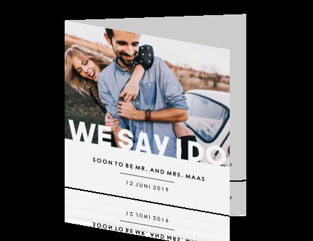uitnodiging huwelijk
