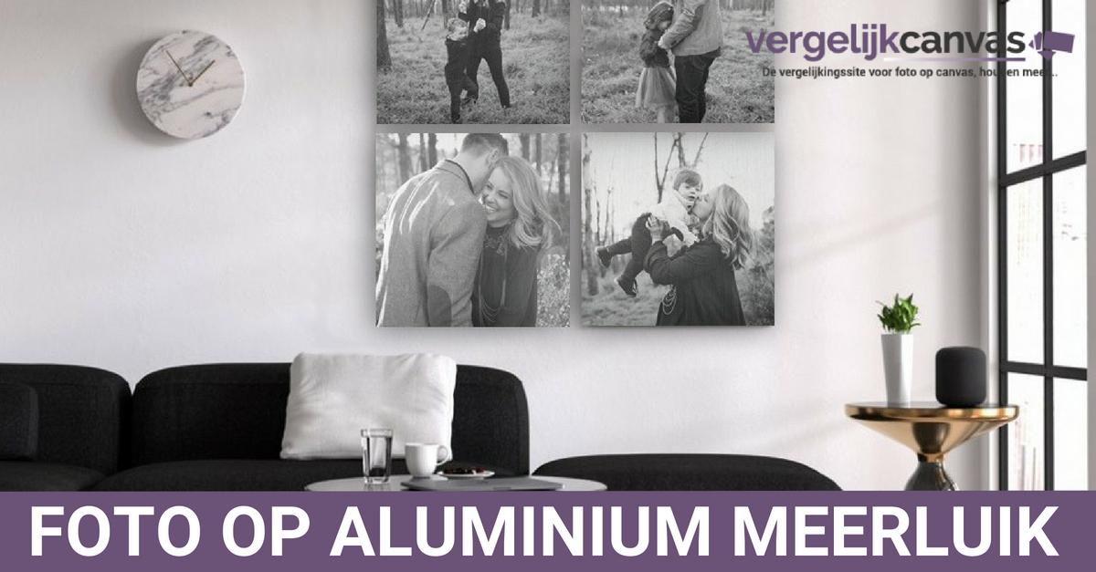 Foto op Aluminium meerluik